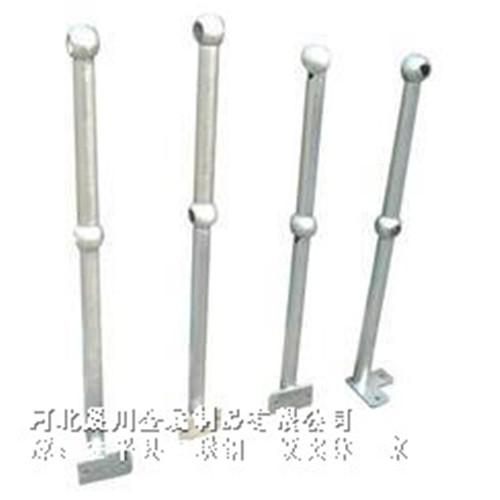 球型立柱栏杆-防护球接栏杆-河北晨川丝网制品有限公司