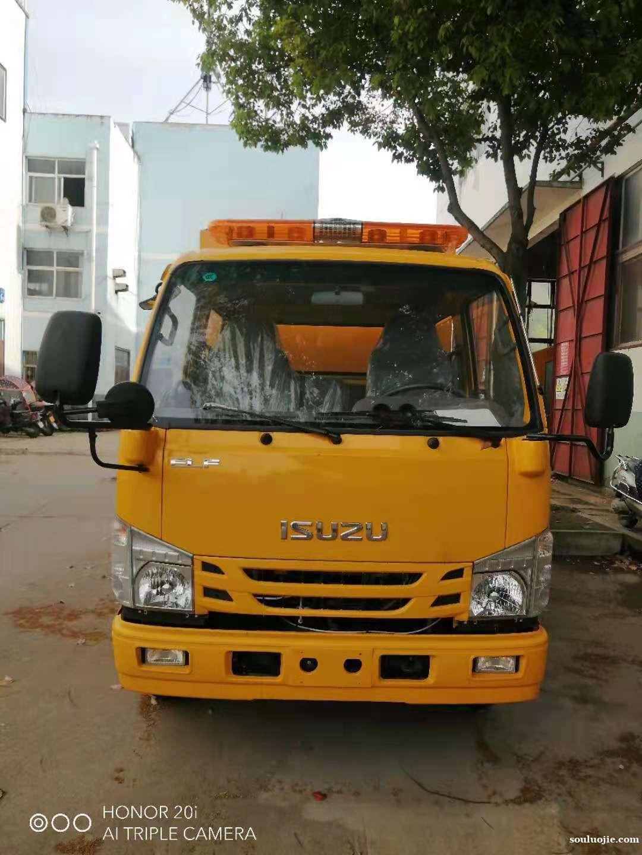 国六蓝牌五十铃双排救险车、抢险车、防汛抗旱