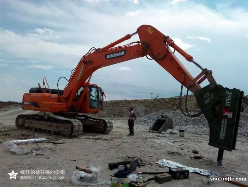 连港工兵破碎锤150毫米型号ZFB9F厂家发货各大城市